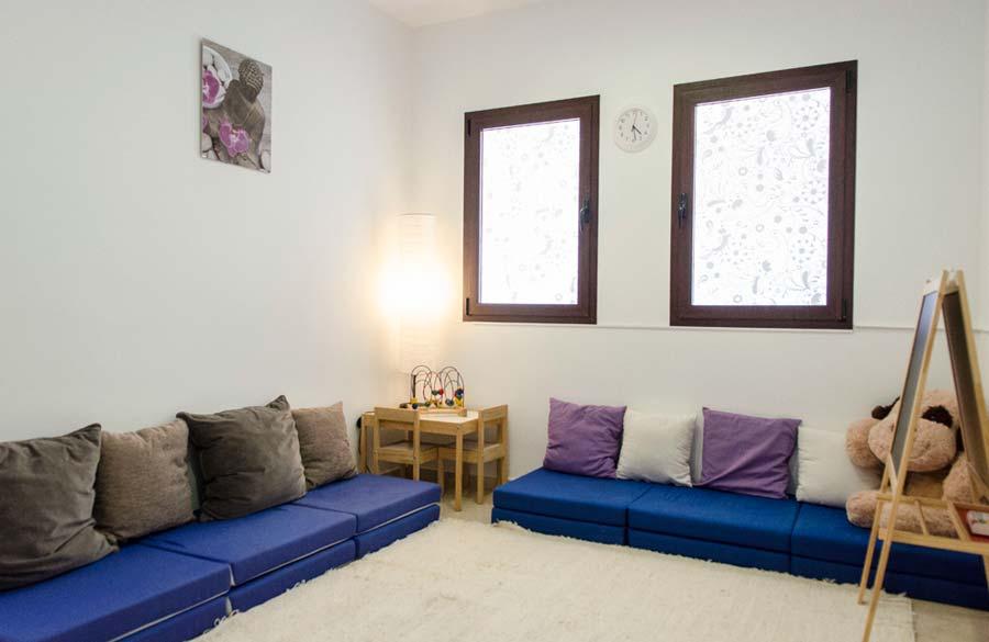 Centro de Psicología Rosario Bazán en Estepona, sala grupal